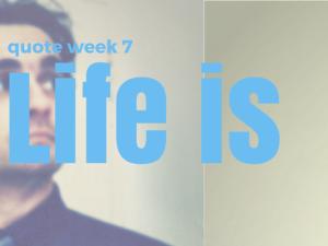 quote | stropdasknopen : life is too