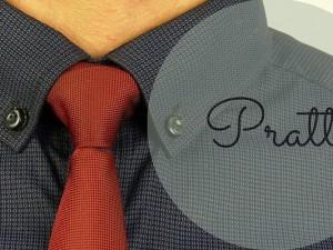 Hoe knoop je een stropdas: de pratt knoop